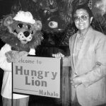 hungy lion